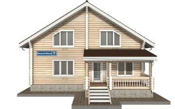 Фото #7: Красивый деревянный дом РС-39 из бревна