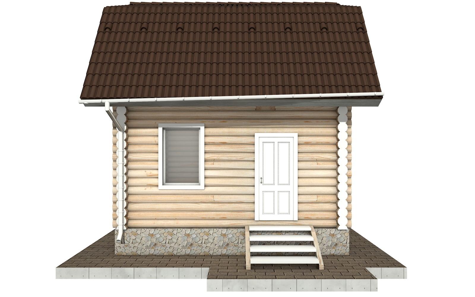 Фото #6: Красивый деревянный дом РС-94 из бревна