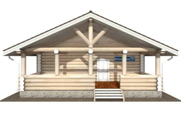Фото #7: Красивый деревянный дом РС-103 из бревна