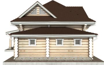 Фото #7: Красивый деревянный дом РС-112 из бревна