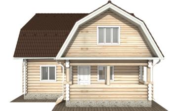 Фото #7: Красивый деревянный дом РС-115 из бревна