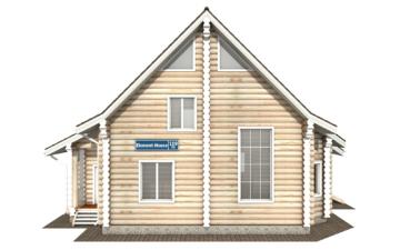 Фото #7: Красивый деревянный дом РС-119 из бревна