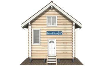 Фото #7: Красивый деревянный дом РС-126 из бревна