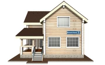 Фото #7: Красивый деревянный дом РС-2 из бревна