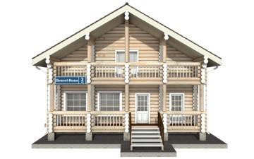 Фото #7: Красивый деревянный дом РС-3 из бревна