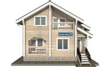 Фото #7: Красивый деревянный дом РС-34 из бревна
