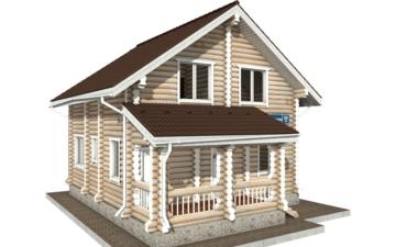 Фото #5: Красивый деревянный дом РС-59 из бревна