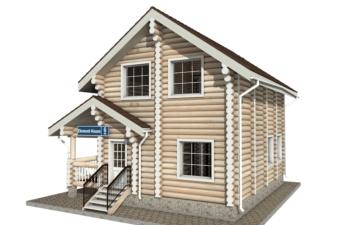 Фото #5: Красивый деревянный дом РС-6 из бревна