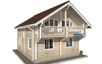 Фото #5: Красивый деревянный дом РС-68 из бревна