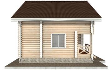 Фото #8: Красивый деревянный дом РС-93 из бревна