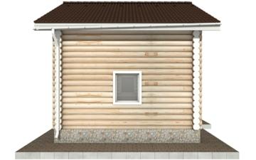 Фото #8: Красивый деревянный дом РС-95 из бревна