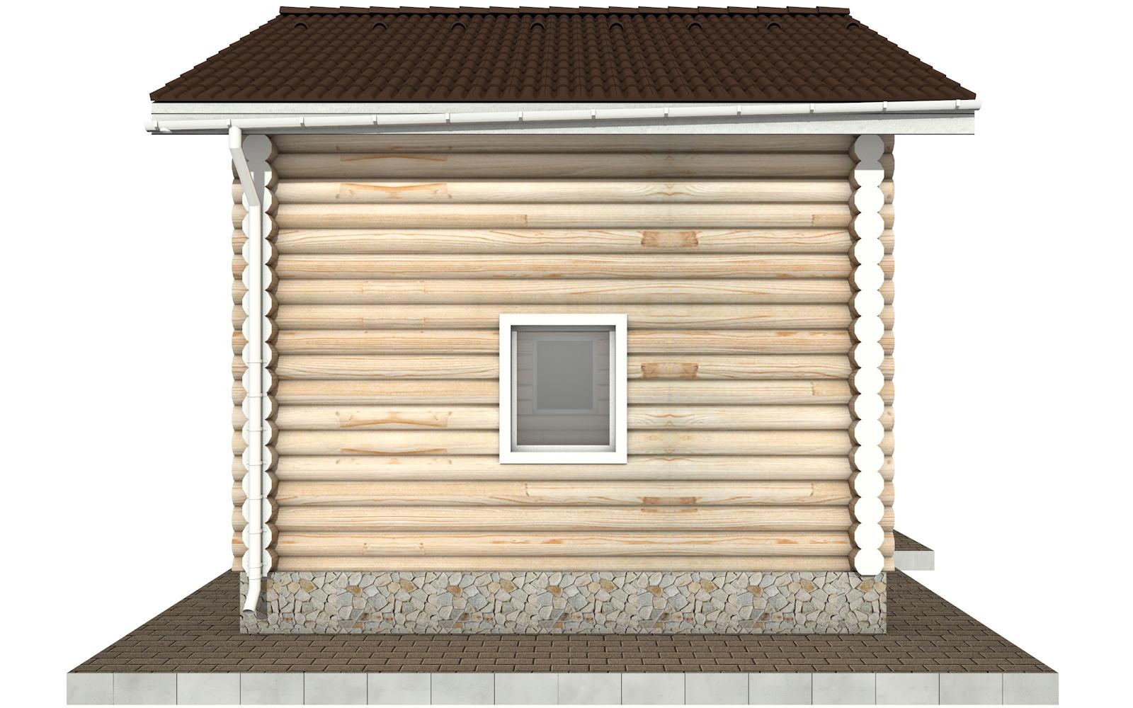 Фото #7: Красивый деревянный дом РС-95 из бревна