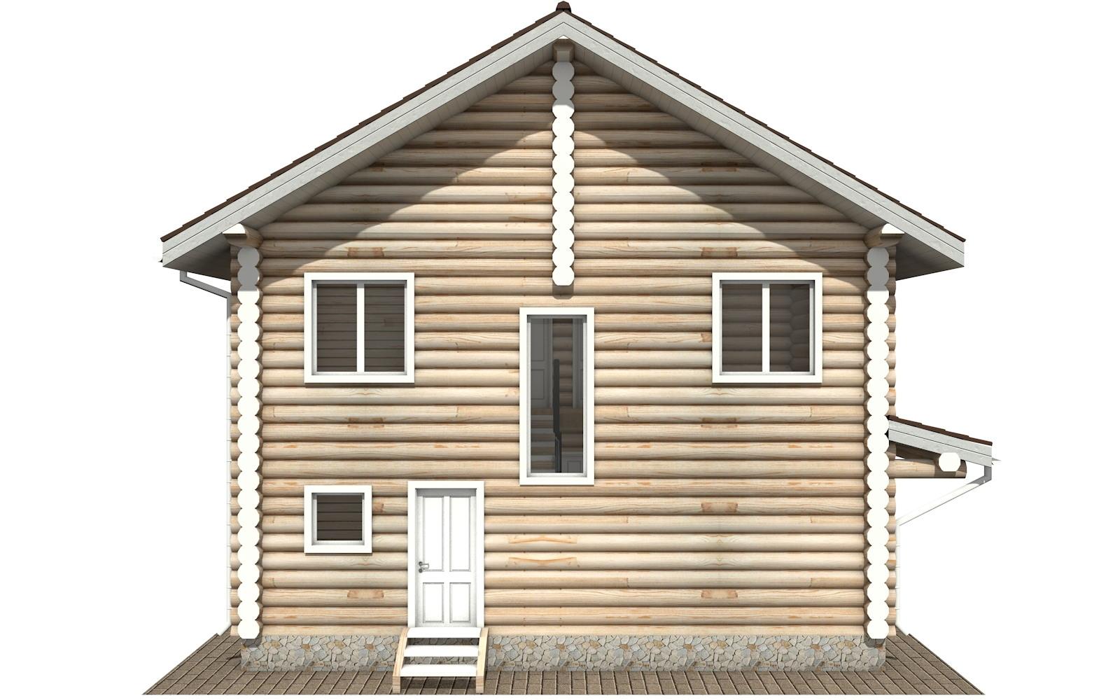 Фото #7: Красивый деревянный дом РС-104 из бревна