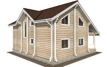 Фото #5: Красивый деревянный дом РС-114 из бревна