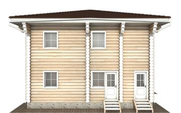 Фото #8: Красивый деревянный дом РС-122 из бревна