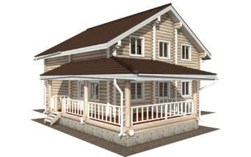 Фото #5: Красивый деревянный дом РС-124 из бревна