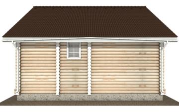 Фото #8: Красивый деревянный дом РС-135 из бревна