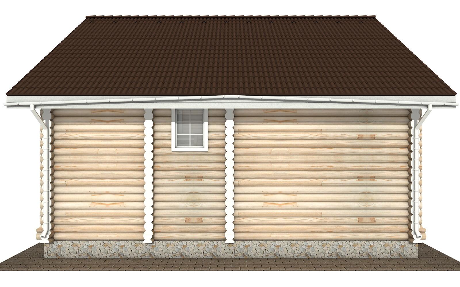 Фото #7: Красивый деревянный дом РС-135 из бревна