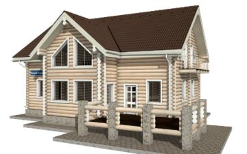 Фото #5: Красивый деревянный дом РС-11 из бревна