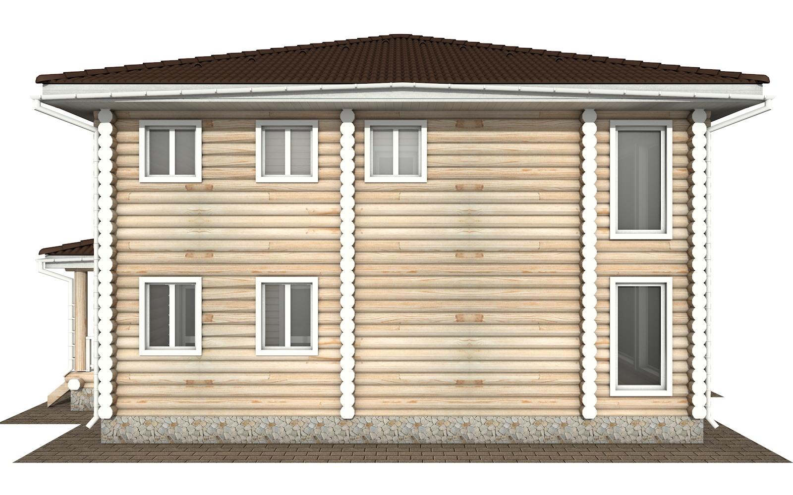 Фото #7: Красивый деревянный дом РС-139 из бревна