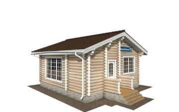 Фото #2: Красивый деревянный дом РС-140 из бревна