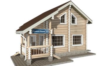 Фото #2: Красивый деревянный дом РС-13 из бревна