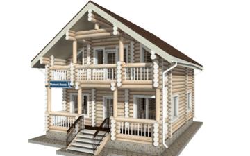 Фото #5: Красивый деревянный дом РС-18 из бревна