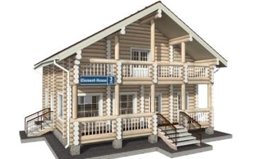 Фото #5: Красивый деревянный дом РС-3 из бревна