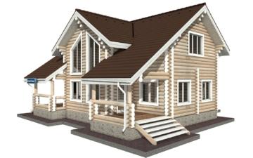 Фото #5: Красивый деревянный дом РС-29 из бревна
