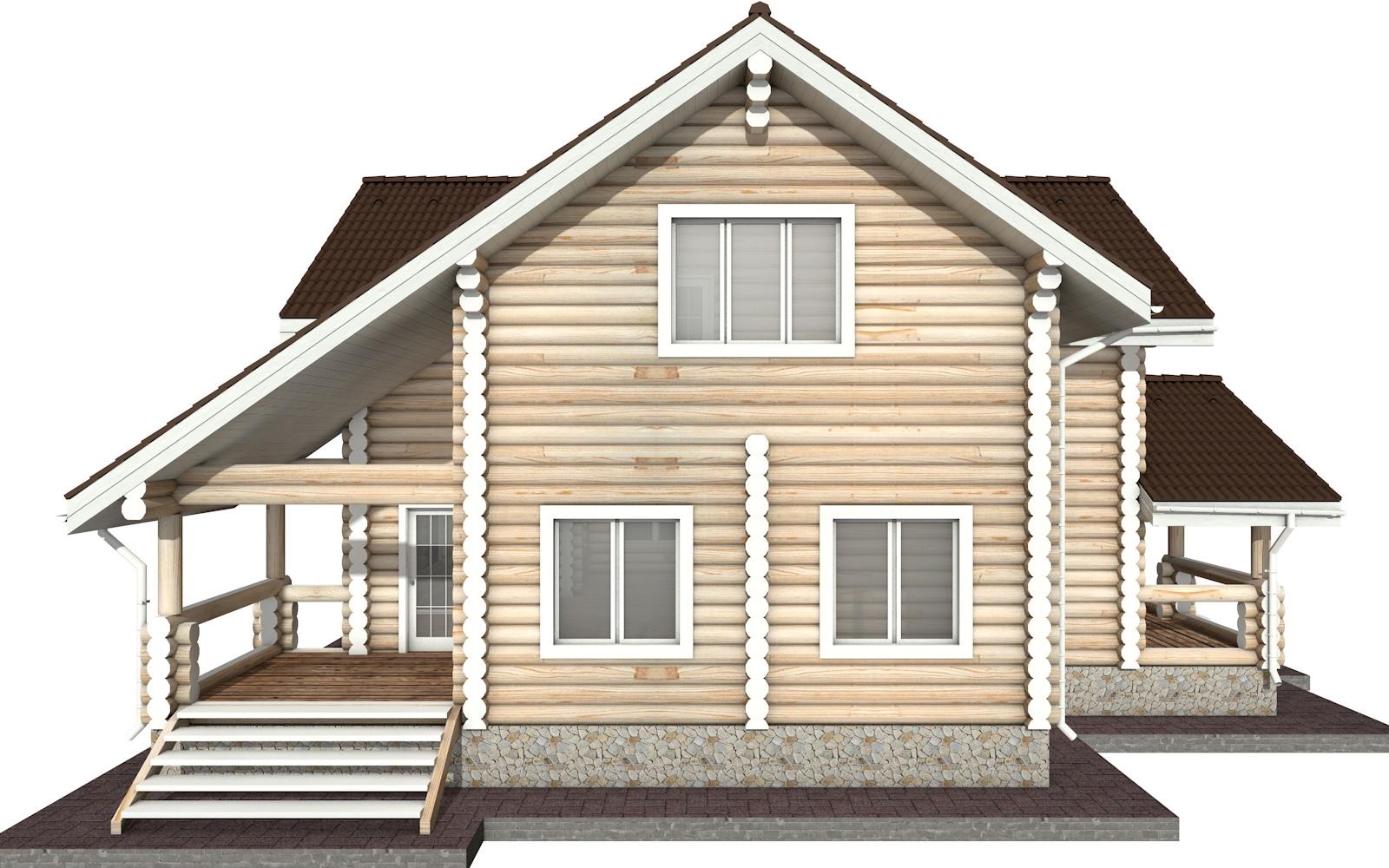 Фото #7: Красивый деревянный дом РС-29 из бревна
