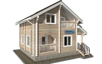 Фото #2: Красивый деревянный дом РС-34 из бревна