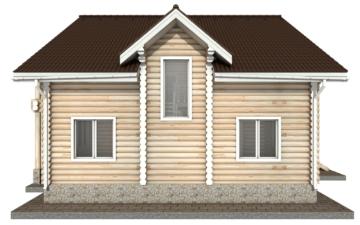 Фото #8: Красивый деревянный дом РС-39 из бревна