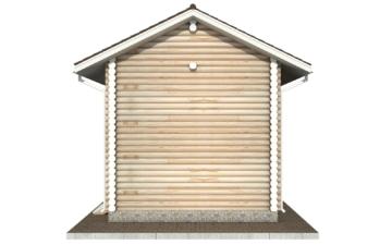 Фото #9: Красивый деревянный дом РС-60 из бревна