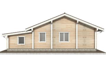 Фото #9: Красивый деревянный дом РС-70 из бревна