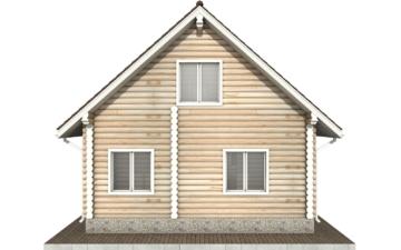 Фото #9: Красивый деревянный дом РС-71 из бревна