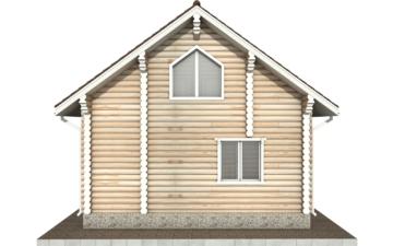 Фото #9: Красивый деревянный дом РС-75 из бревна