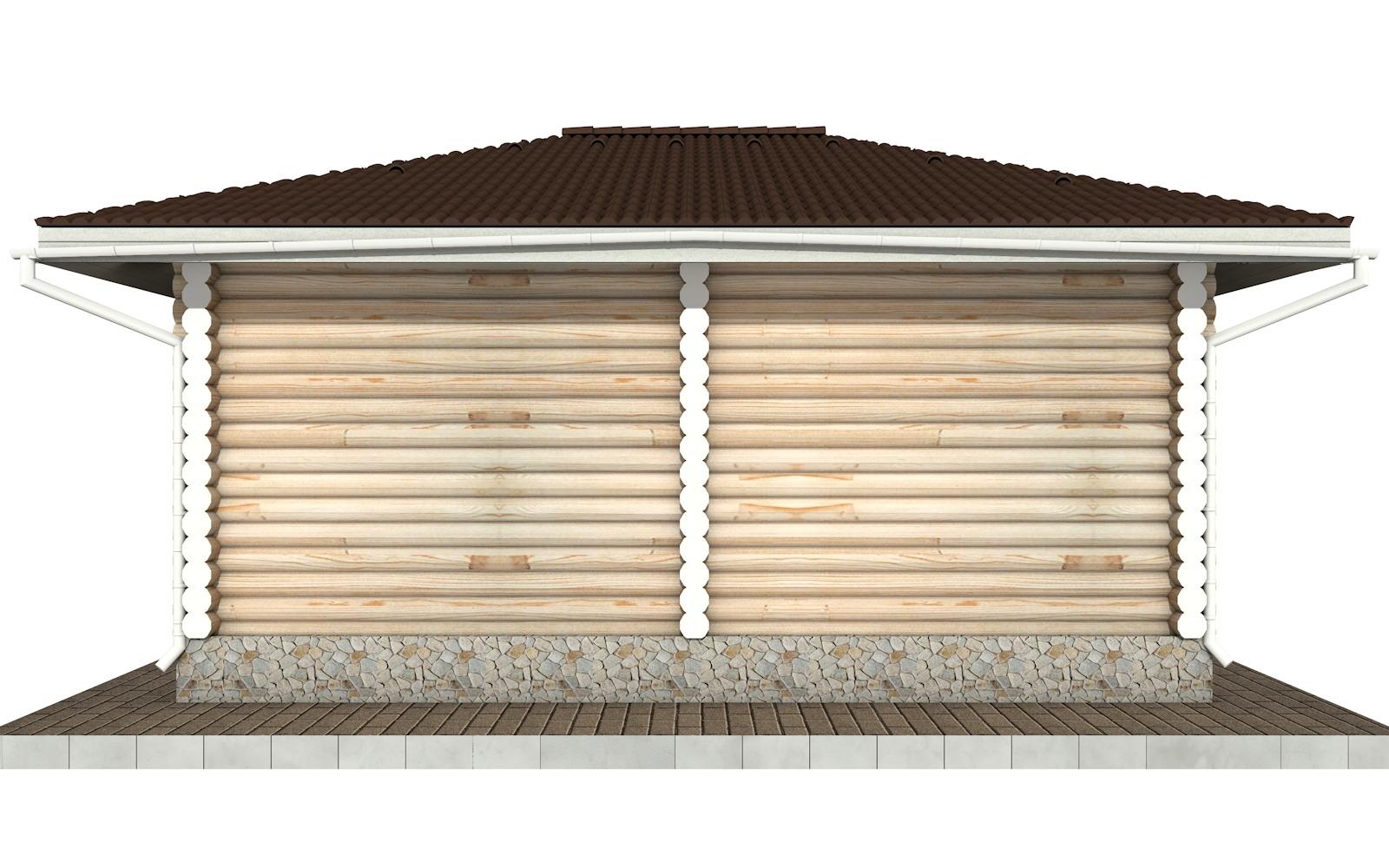 Фото #7: Красивый деревянный дом РС-89 из бревна