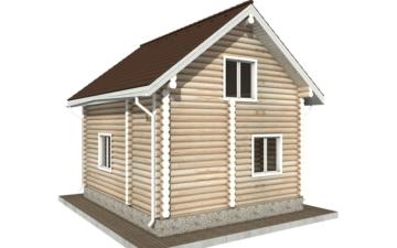 Фото #6: Красивый деревянный дом РС-93 из бревна