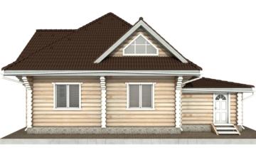 Фото #9: Красивый деревянный дом РС-97 из бревна