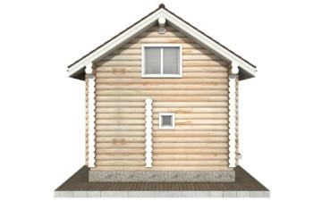 Фото #9: Красивый деревянный дом РС-99 из бревна