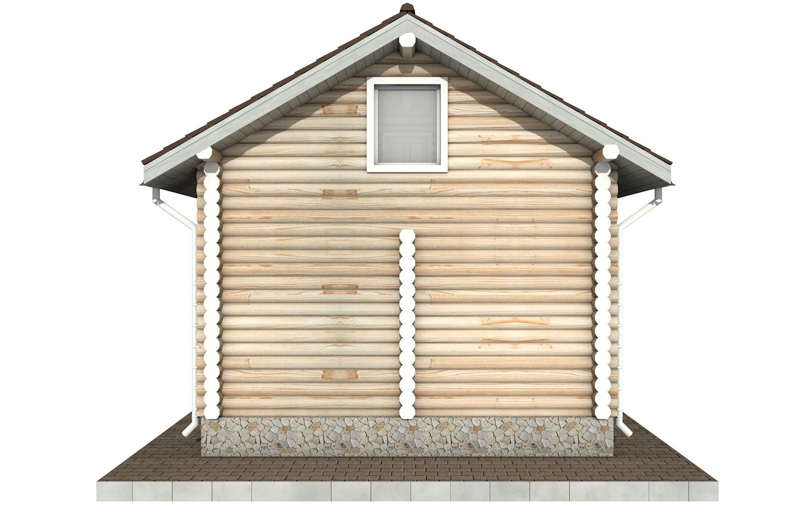 Фото #8: Красивый деревянный дом РС-100 из бревна