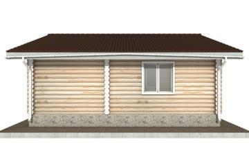 Фото #9: Красивый деревянный дом РС-101 из бревна