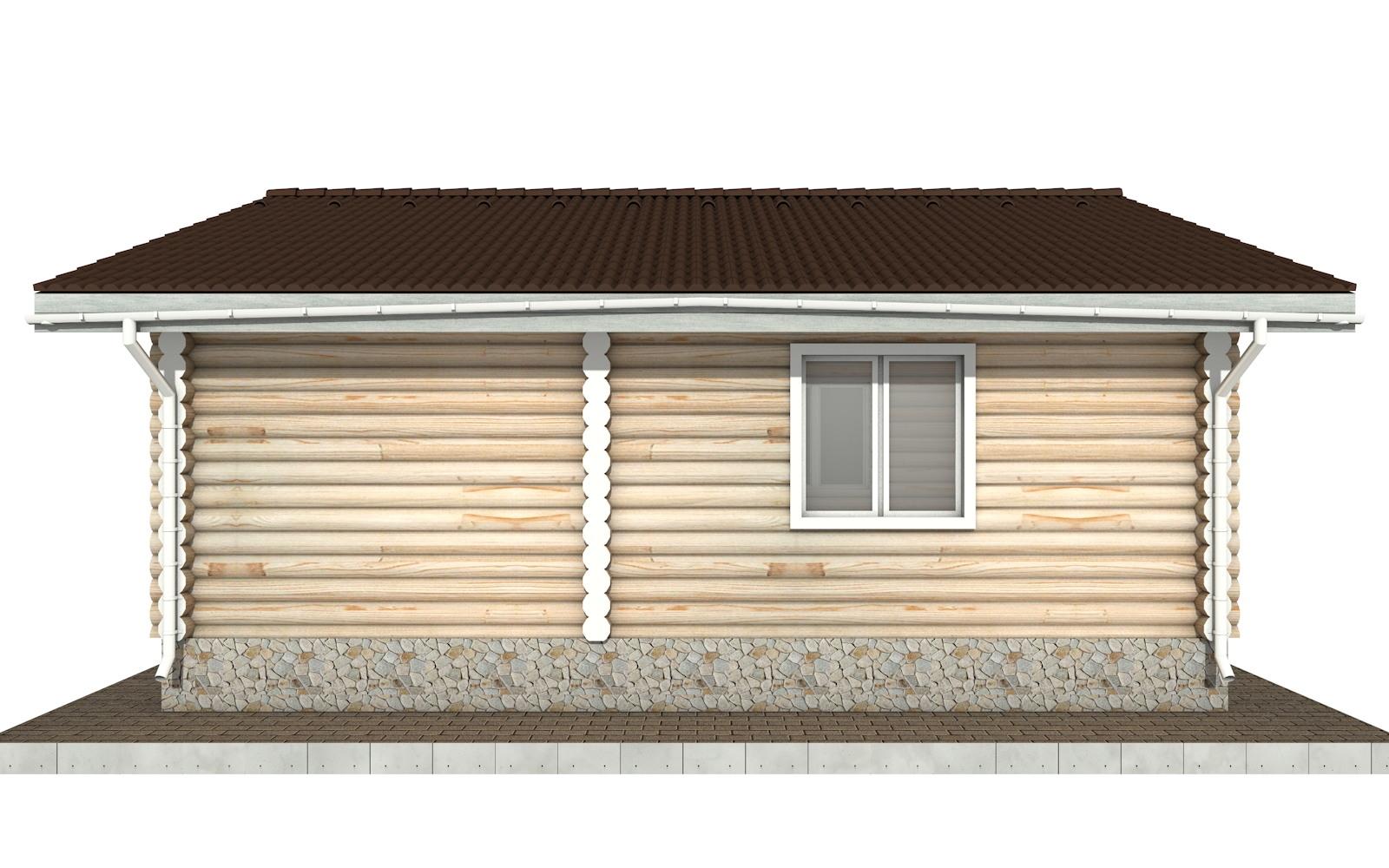 Фото #7: Красивый деревянный дом РС-101 из бревна
