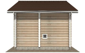 Фото #9: Красивый деревянный дом РС-104 из бревна
