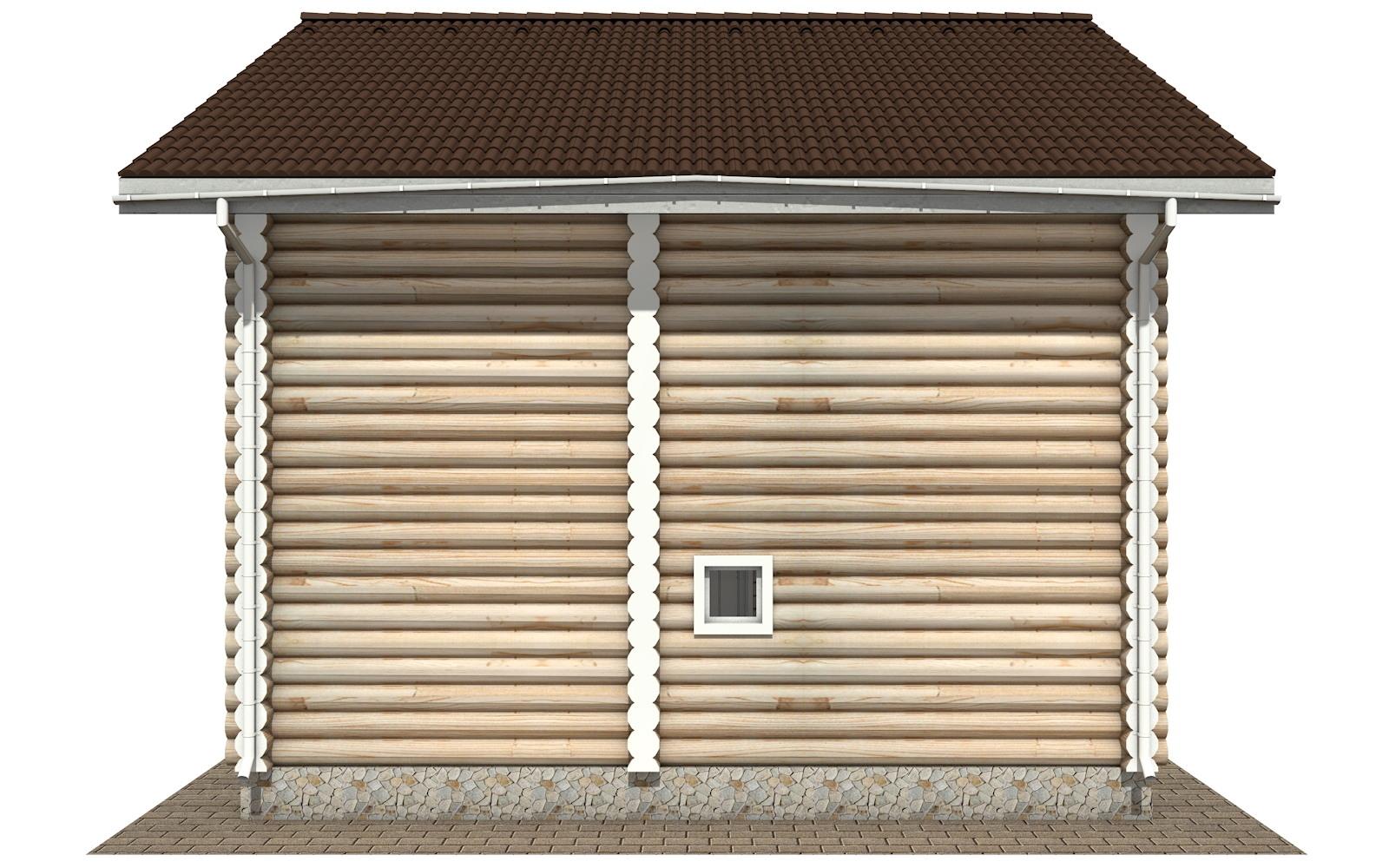 Фото #8: Красивый деревянный дом РС-104 из бревна