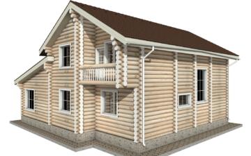 Фото #6: Красивый деревянный дом РС-10 из бревна