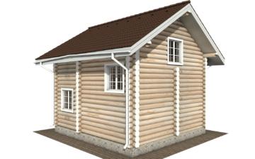 Фото #6: Красивый деревянный дом РС-109 из бревна