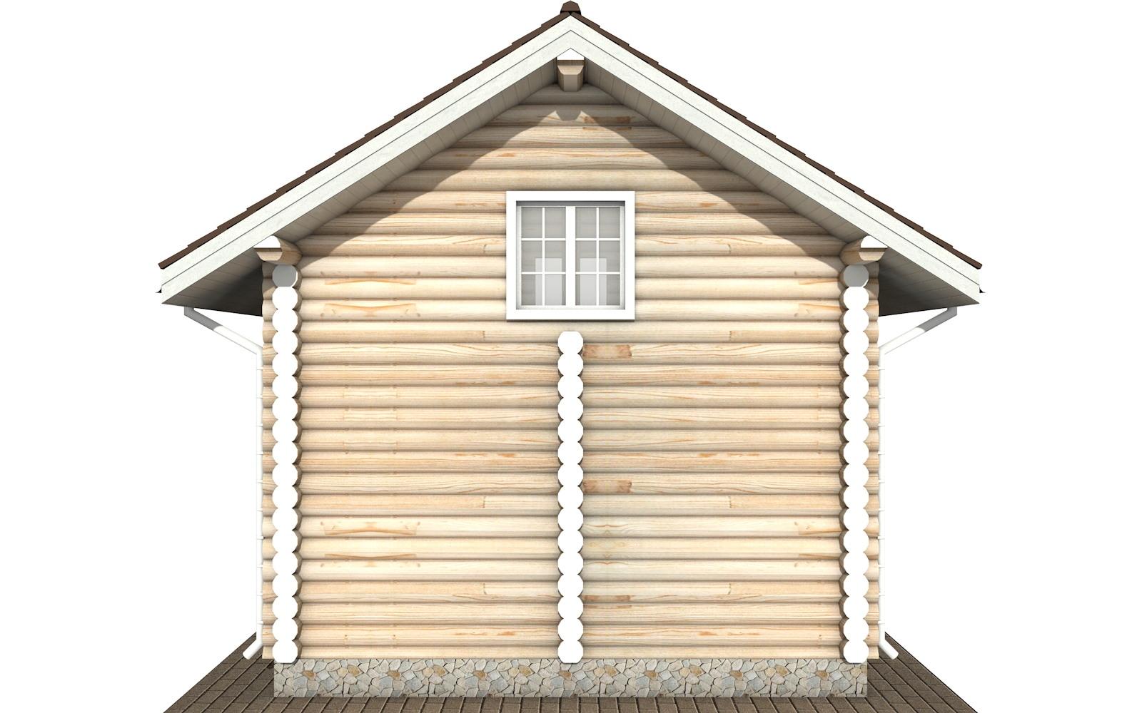 Фото #8: Красивый деревянный дом РС-109 из бревна