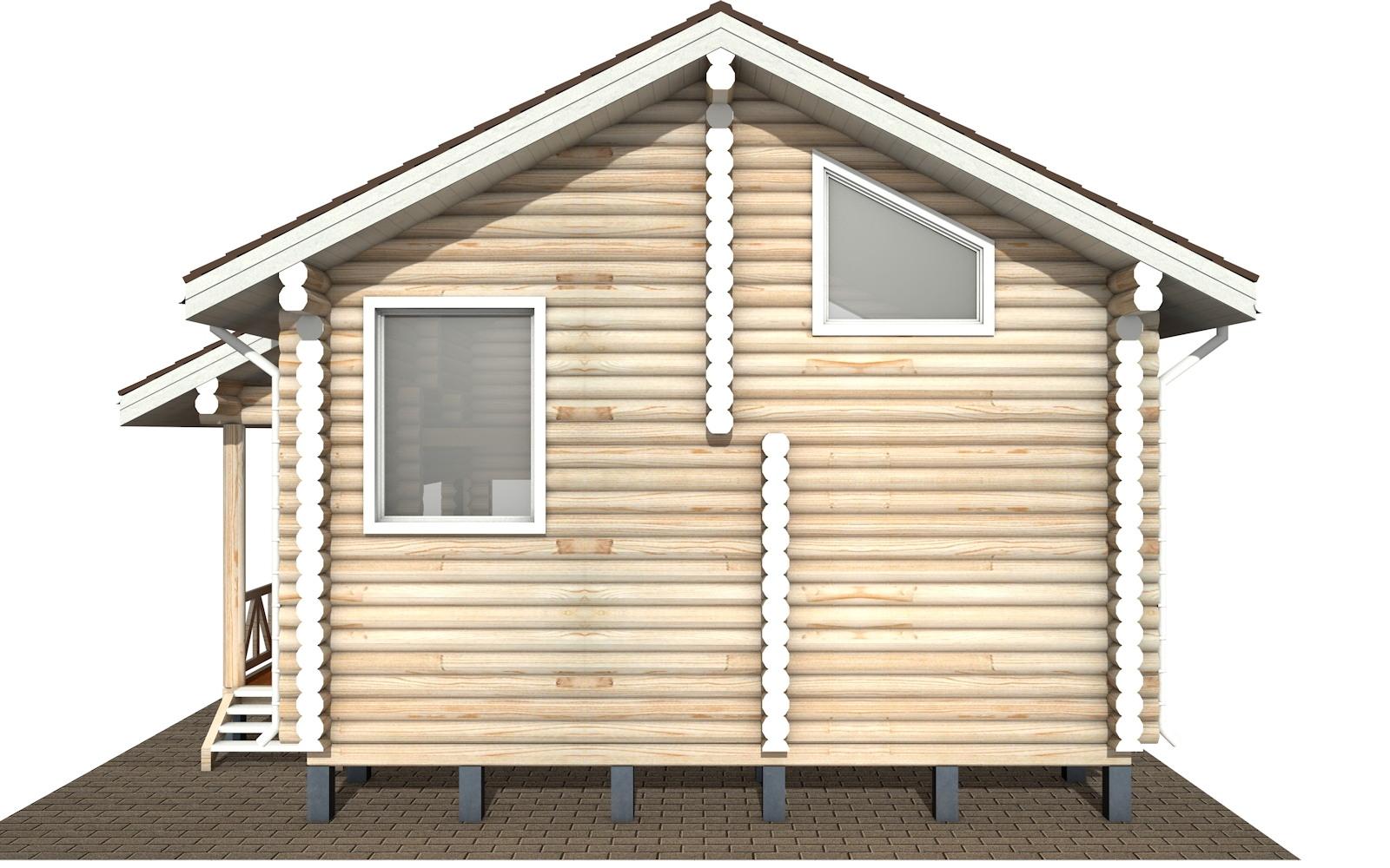 Фото #8: Красивый деревянный дом РС-110 из бревна