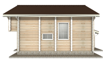 Фото #9: Красивый деревянный дом РС-10 из бревна